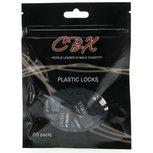 CB-X Plastic Hangslotjes - 10 Stuks